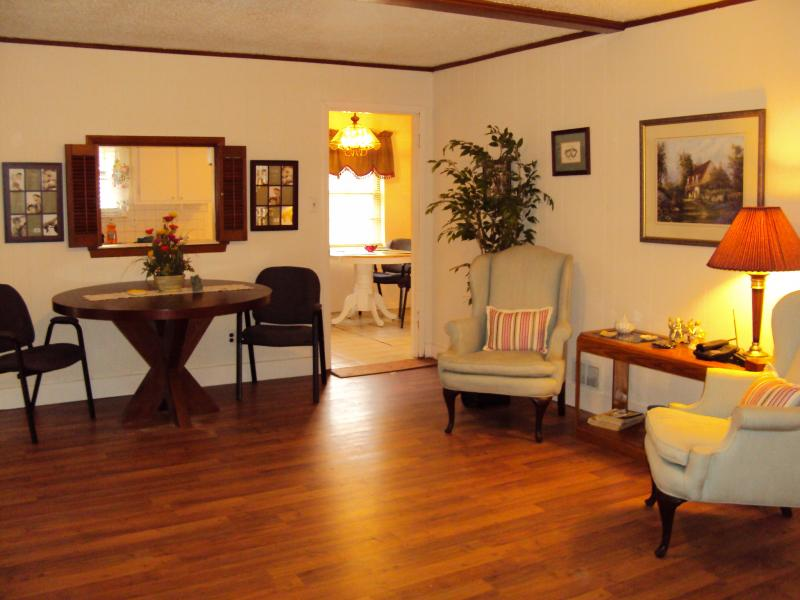 living area in foxcroft